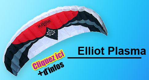 elliot plasma snowkite