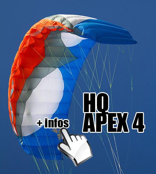 HQ Apex 4 snowkite