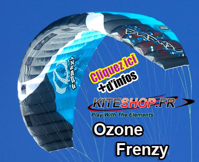 ozone frenzy snowkite